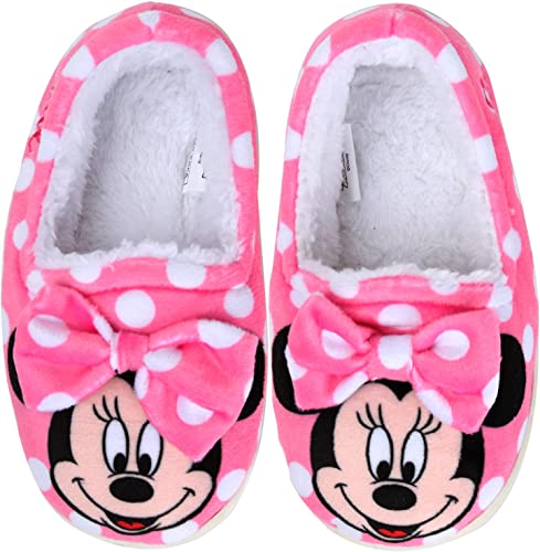 Brand New Toddler Girls Disney Minnie Mouse Boot Slipper