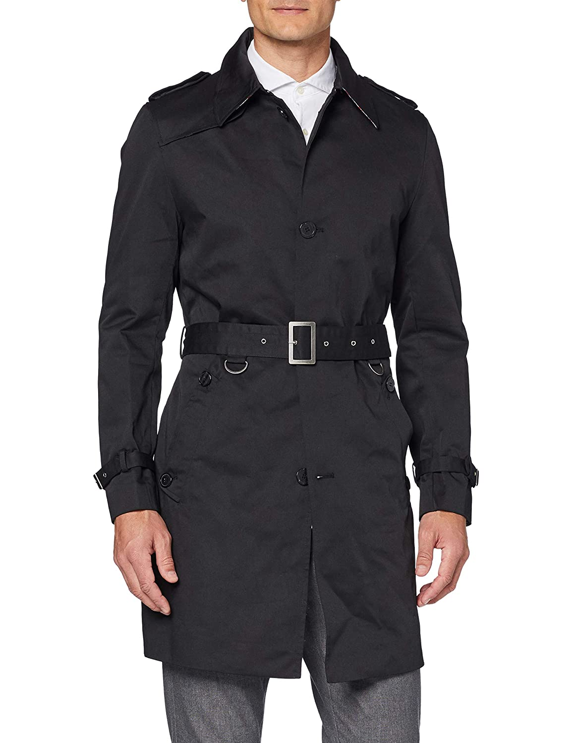 The Platinum Tailor - Chaqueta Impermeable - para Hombre