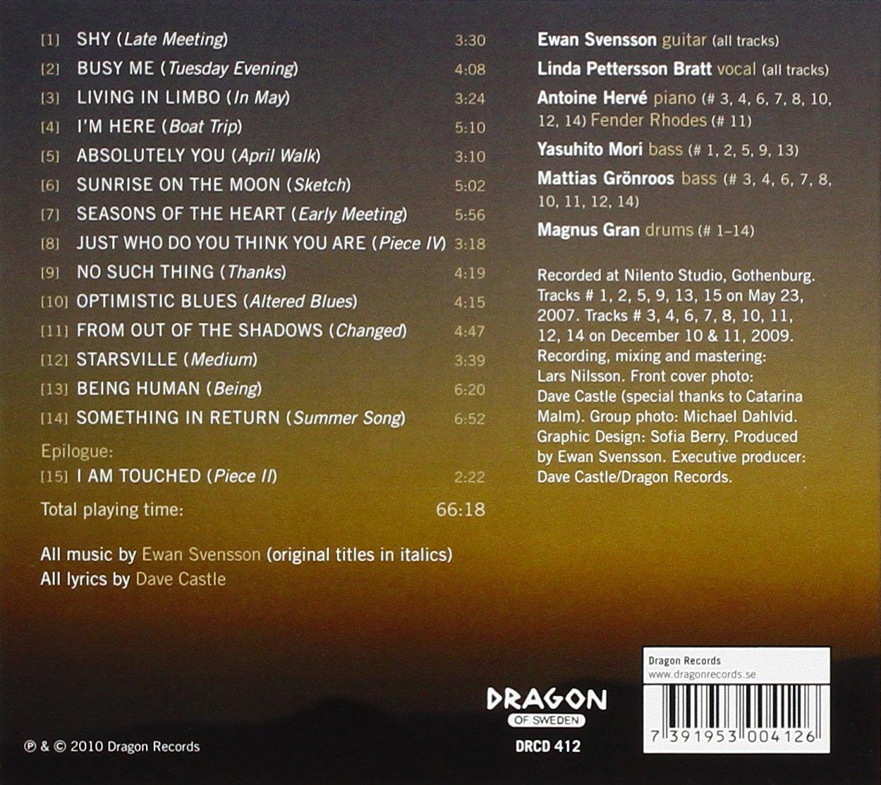Ewan Svensson & Linda Petterson-Bratt - Sunrise on the Moon - Amazon ...