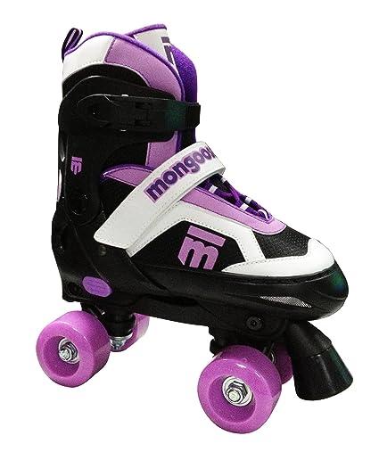 Roller Skates Amazon Com >> Mongoose Girl S Quad Roller Skates
