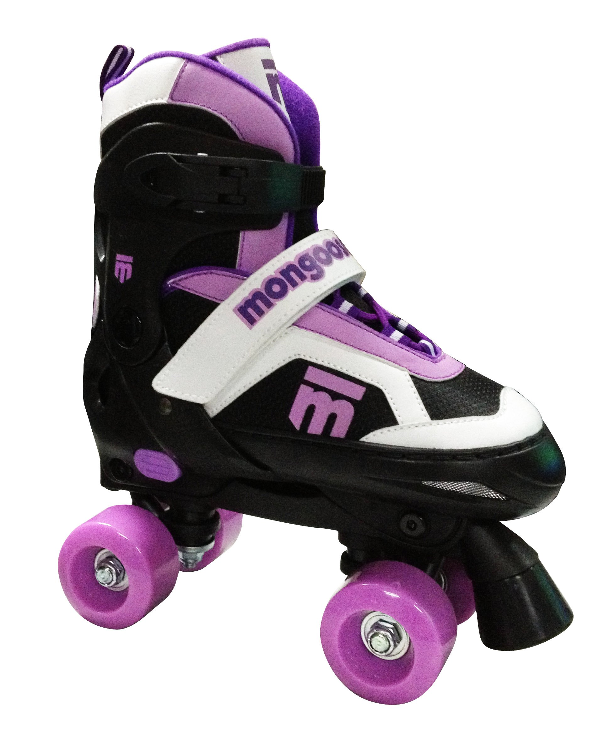 Mongoose Girl's Quad Roller Skates, Small