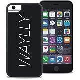 WAYLLY ウェイリー iPhoneケース iPhone 6 / 6s / 7 / 8 対応 どこでもくっつく 耐衝撃 (LOGO WHITE)