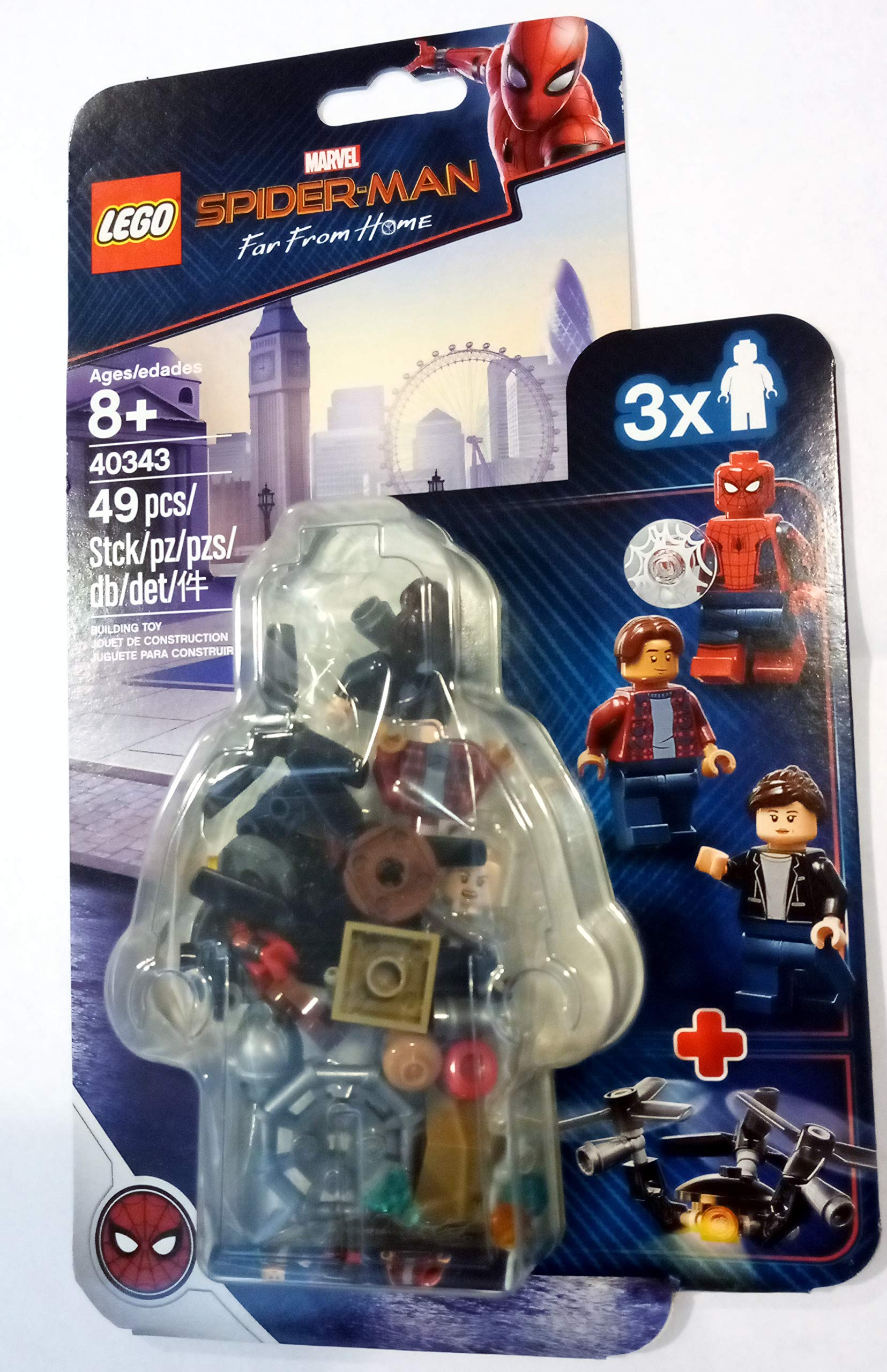 LEGO Marvel Spider-Man Far From Home Spider-Man and the Museum Break-In Set #40343