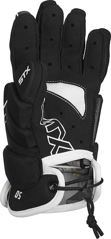 STX Lacrosse Stallion 50 Gloves, Black, 2X-Small : Sports & Outdoors