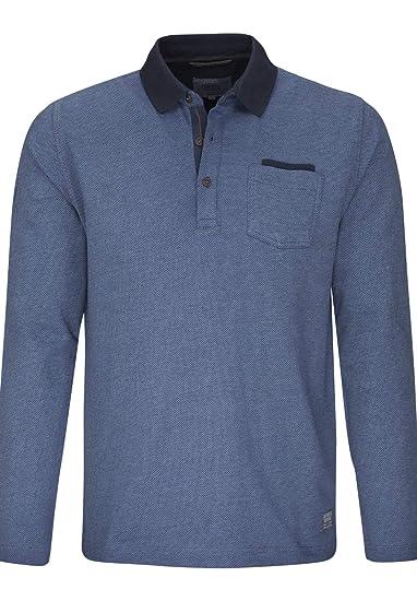 9b2601173146aa camel active Herren Polo-Shirt Regular fit Langarm  Amazon.de ...