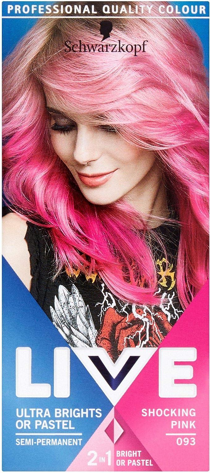 Schwarzkopf LIVE Color XXL Ultra Brights 93 Shocking Pink ...