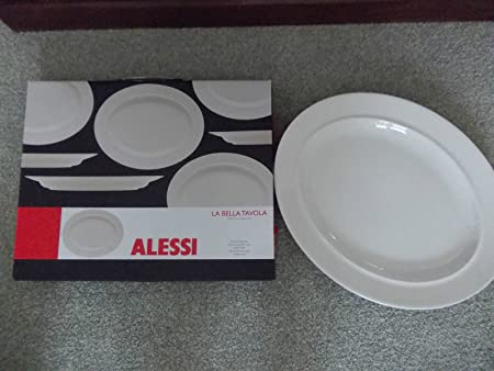 Alessi La Bella Tavola Range Oval Serving Plate 36cm Amazon Co Uk