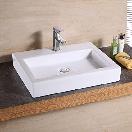 Brilliant Luxier Cs 021 Bathroom Porcelain Ceramic Vessel Vanity Sink Art Basin Download Free Architecture Designs Embacsunscenecom