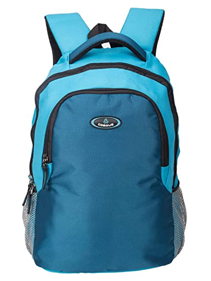 Cosmus Phoenix 15.6 Inch T.Blue  amp; Indigo Blue Laptop Backpack Laptop Backpacks