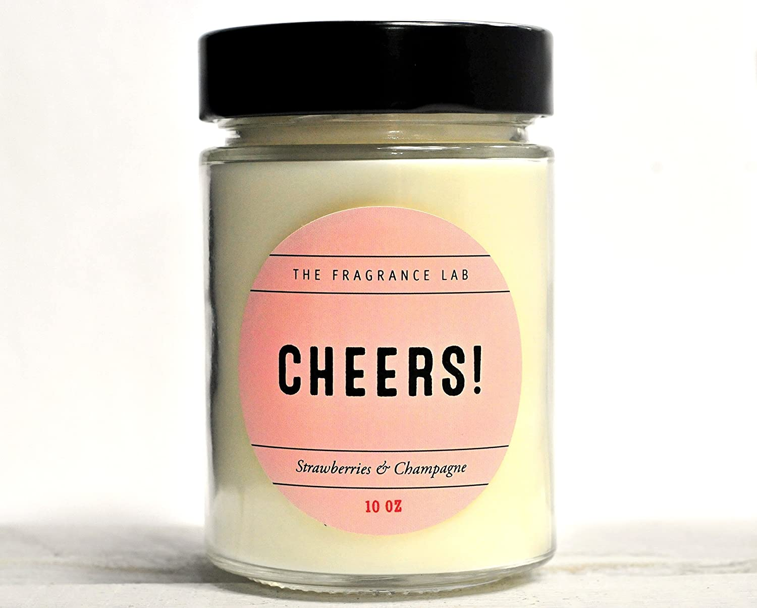 Soy Candles -Cheers! Strawberries & Champagne Scented | The Fragrance Lab