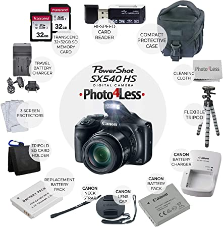 PHOTO4LESS Canon PowerShot SX540 product image 2