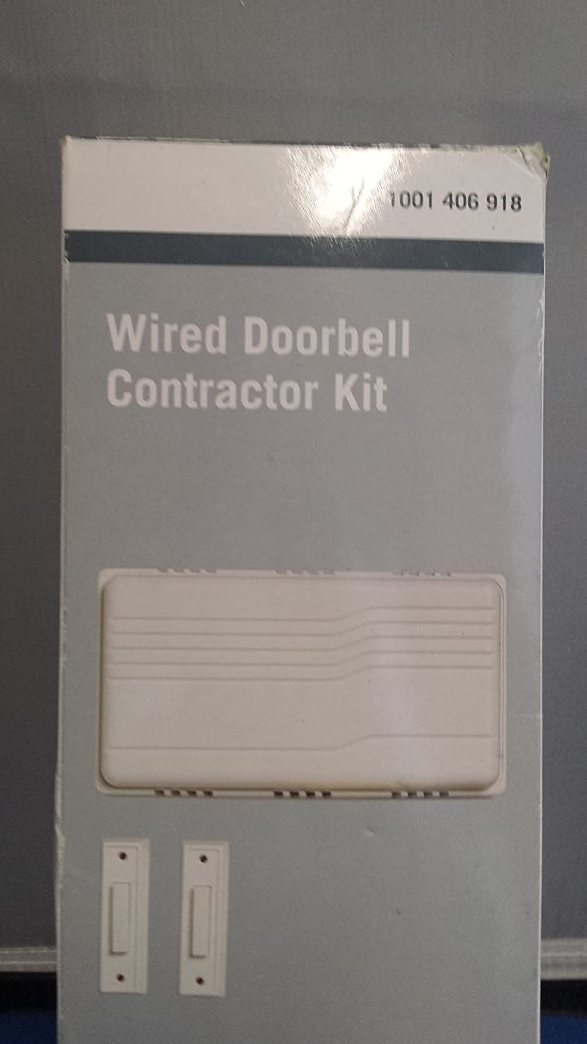 Wired Doorbell Contractor Kit Home Depot Transformer