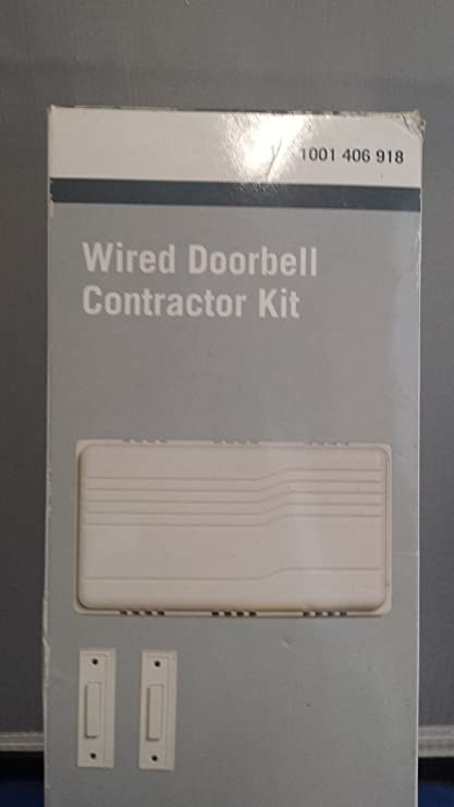 wired doorbell kit