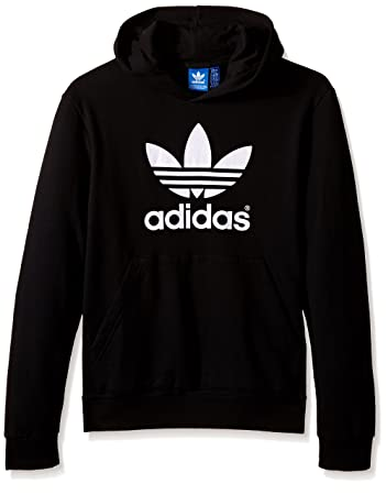 37ffb9734482 Amazon.com  adidas Originals Boys  Active Trefoil Hoodie  Clothing