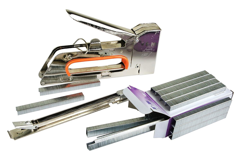 Handtacker Tacker Handnagler Hefter 4-14 mm Klammergerät Hefttacker
