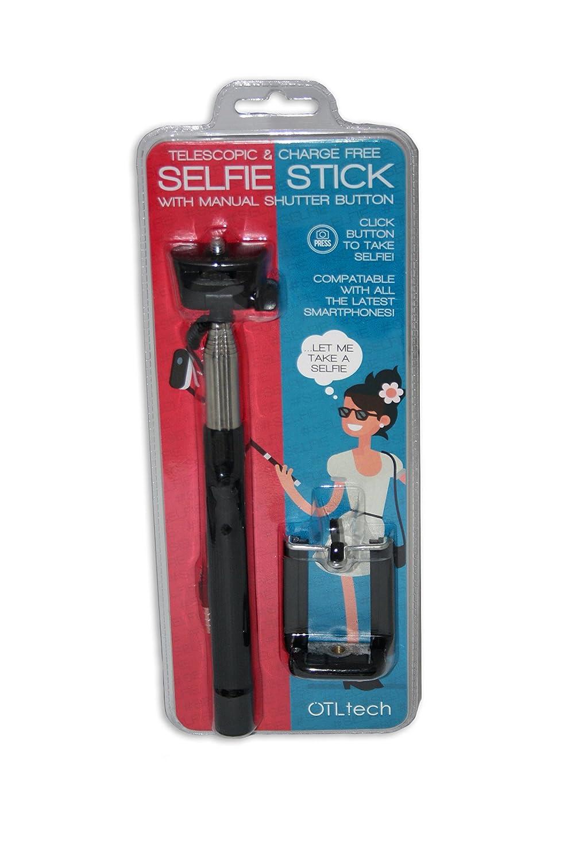 Asta per selfie telescopica senza ricarica,/compatibile con tutti gli smartphone