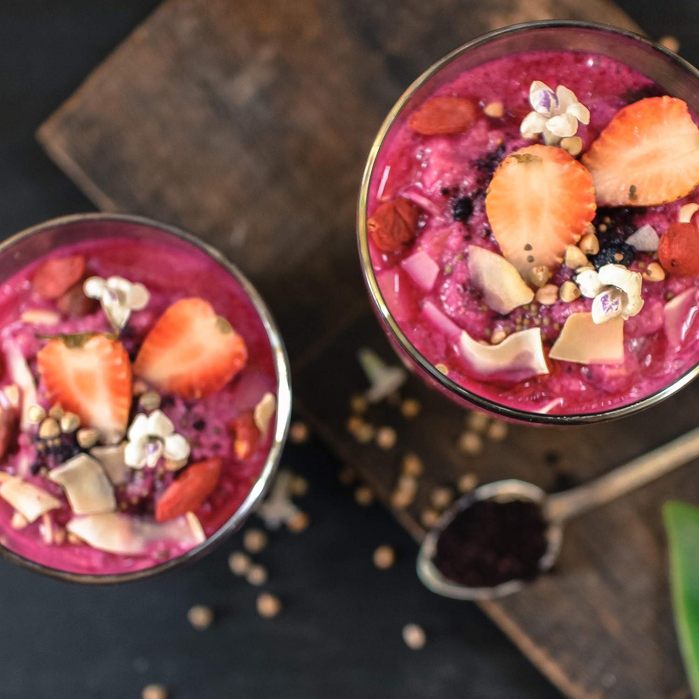 ... Súper alimento ecológico directo del Amazonas - Ideal en batidos, smoothies, avena y desayunos saludables - Calidad natural por secado suave: Amazon.es: ...