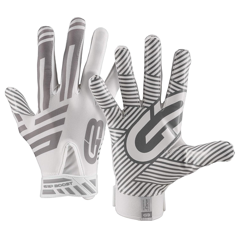 Grip Boost G-Force フットボールグローブ ユースおよび大人サイズ B07GTV1PW8 ホワイト XX-Large XX-Large|ホワイト