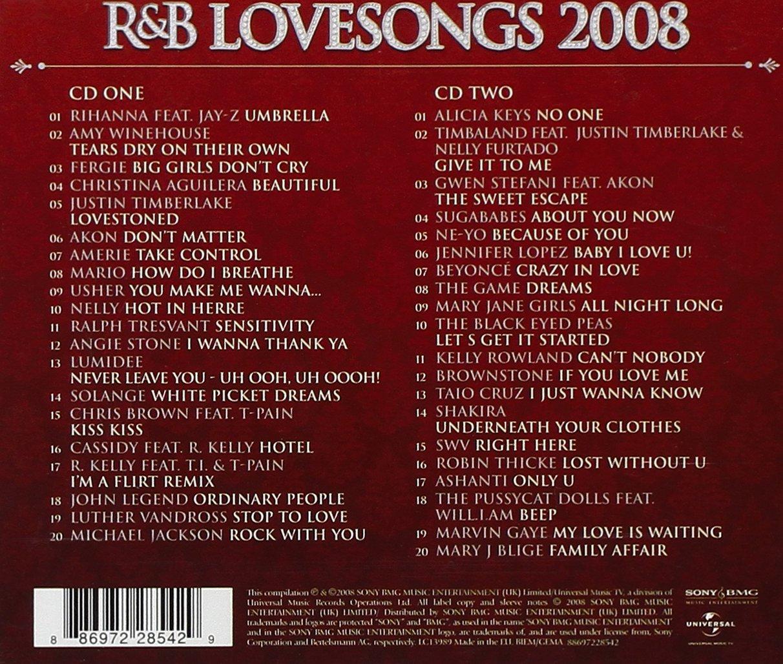 Best rb love songs