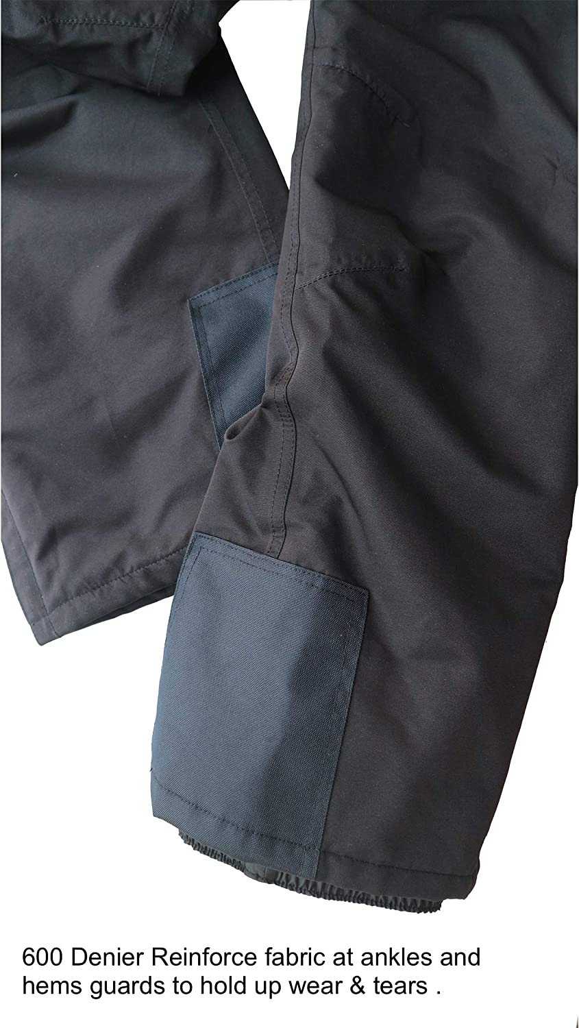 Acme Projects Fleece Lined Softshell Pants Breathable 8000mm//3000gm 100/% Waterproof