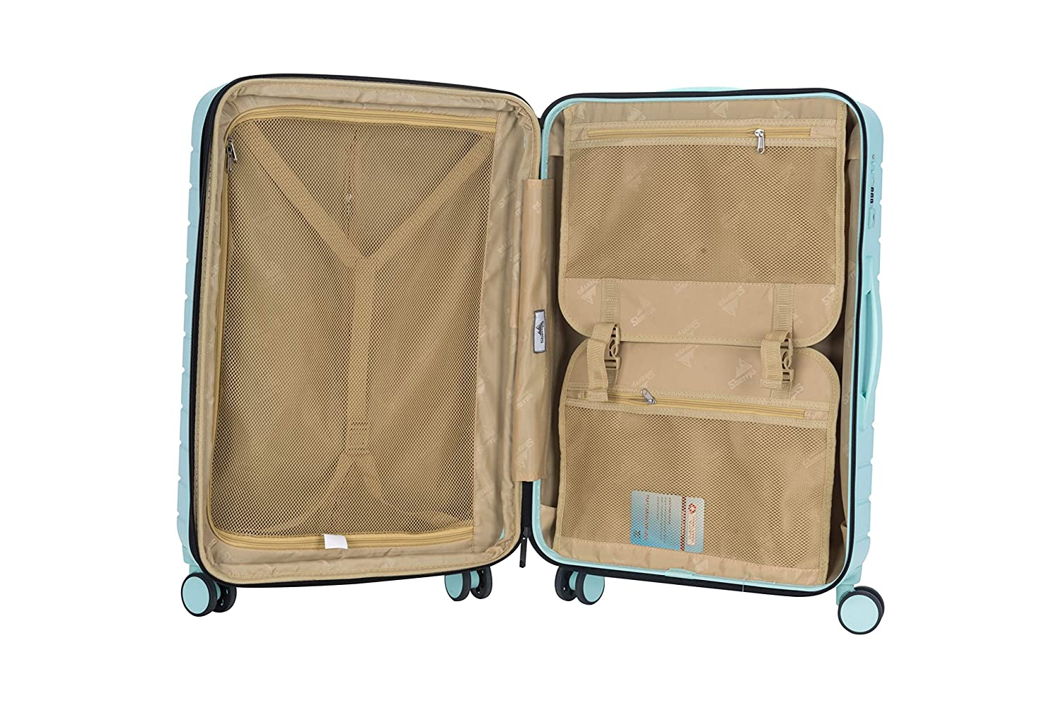 Sherrpa Destiny Luggage Hardside Lightweight Expandable Spinner Carry on 20in 25in 29in L 29inch , Mint