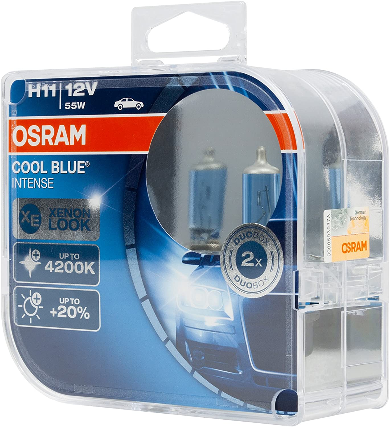 Osram H8 12 V 35 W Cool Blue Intense Upgrade Style Voiture Brouillard Phare 2 X AMPOULES
