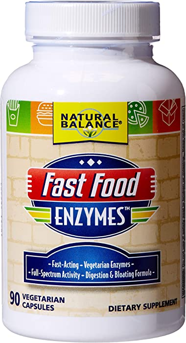 The Best Fast Food Enzymes Natural Balance
