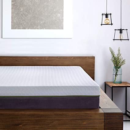 Amazon.com: 12 Inch Twin XL Copper Infused Cool Memory Foam Mattress ...