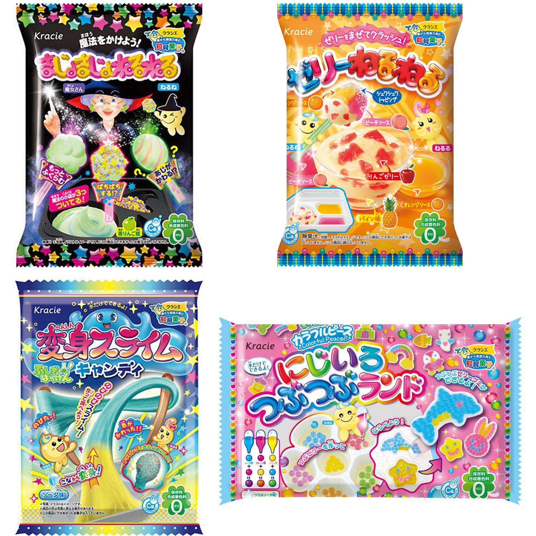 Neruneru Colorful Peace Japaneese DIY Assortment 2 Kracie Children Snack Food Ninjapo