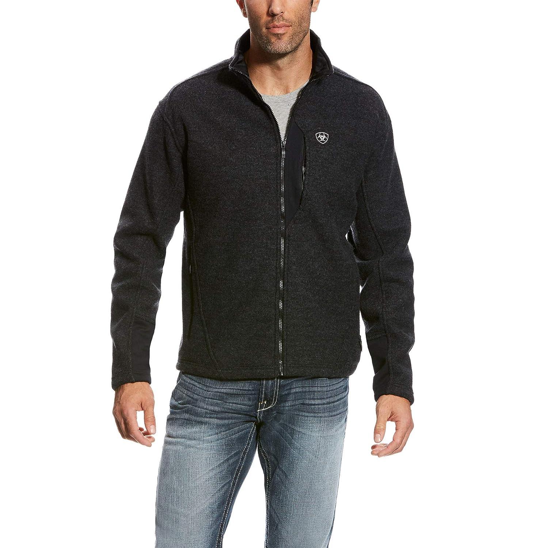 Image of ARIAT Men's Bowdrie Bonded Full Zip Jacket Fleece