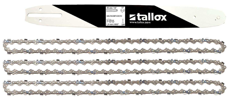 """2 Ketten passend für Solo 613 35 cm 3//8/"""" 52 TG 1,3 mm Sägekette chain Schwert"""