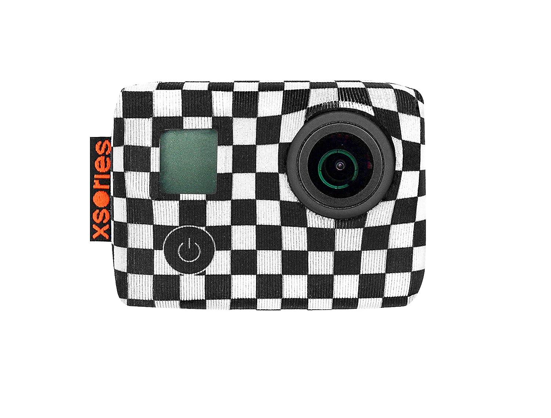 Xsories TXSD2A_CHECKERS Housse en né oprè ne pour GoPro Hero 3/Hero 3+/Hero 4 TXSD3A810