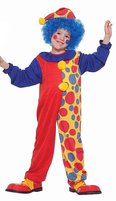 Value Priced Rainbow Clown Costume