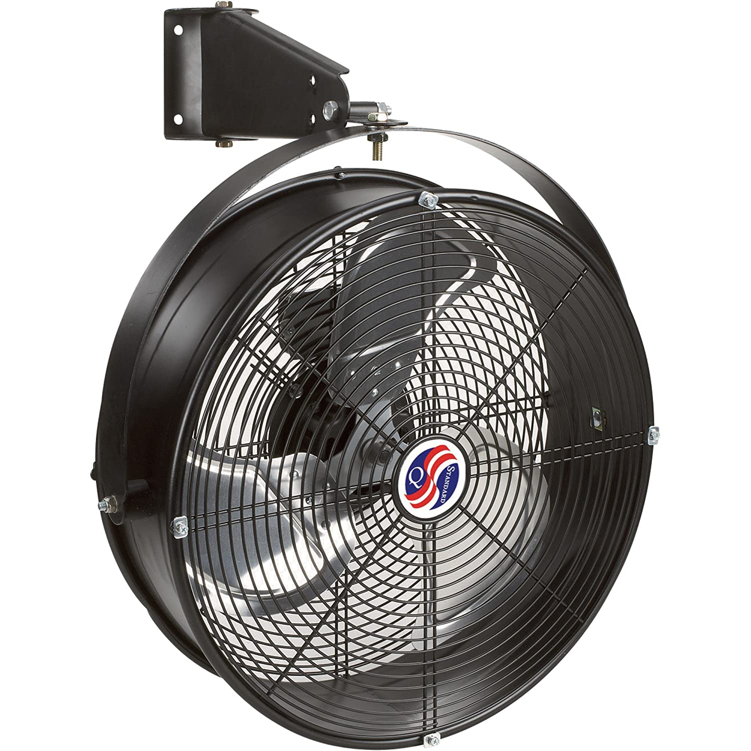 Q Standard Garage Fan 18in Model Misc Built In