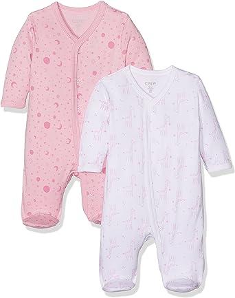 Care Pijama para Bebé Niña, Pack de 2: Amazon.es: Ropa y accesorios