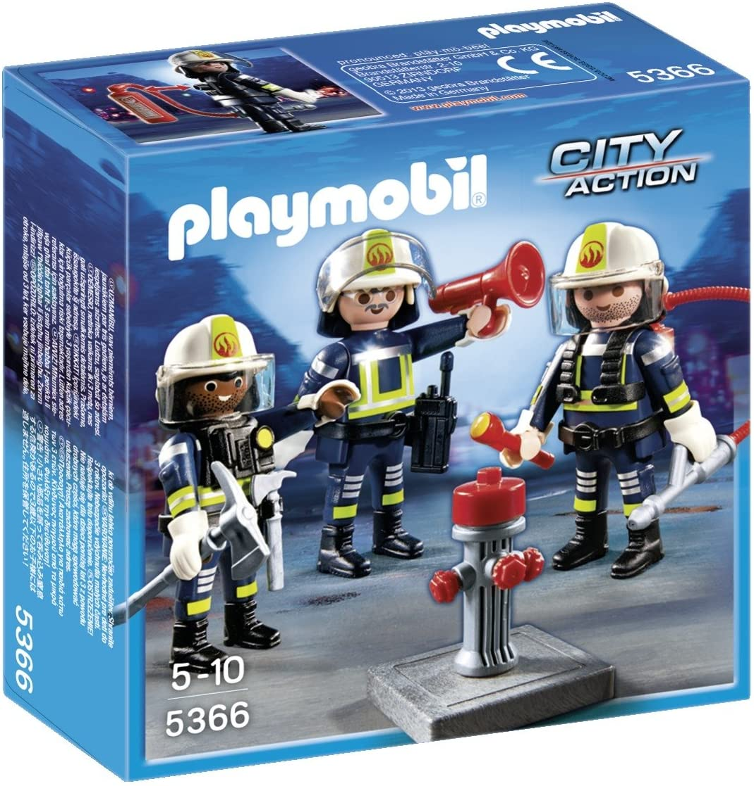 Playmobil City Life 2 x TORSO with ARMS Fireman Top