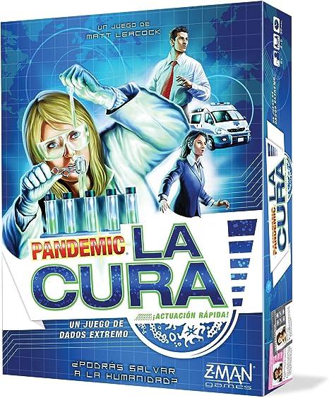 Z-man Games España- Pandemic: La Cura, Color (ZM7150ES): Amazon.es: Juguetes y juegos