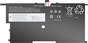 BatteryMon 00HW003 Battery for Lenovo ThinkPad X1 Carbon Gen 3 Series 2015 Laptop, P/N: 00HW002 SB10F46440 SB10F46441-15.2V 50Wh 4Cell