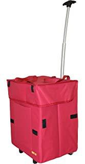 Amazon com: dbest products Smart Cart, RED Collapsible