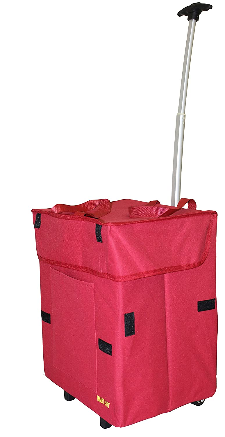 dbest Products Paisley Multipurpose Rolling Collapsible Utility Cart Basket dbest products Inc. 01-668
