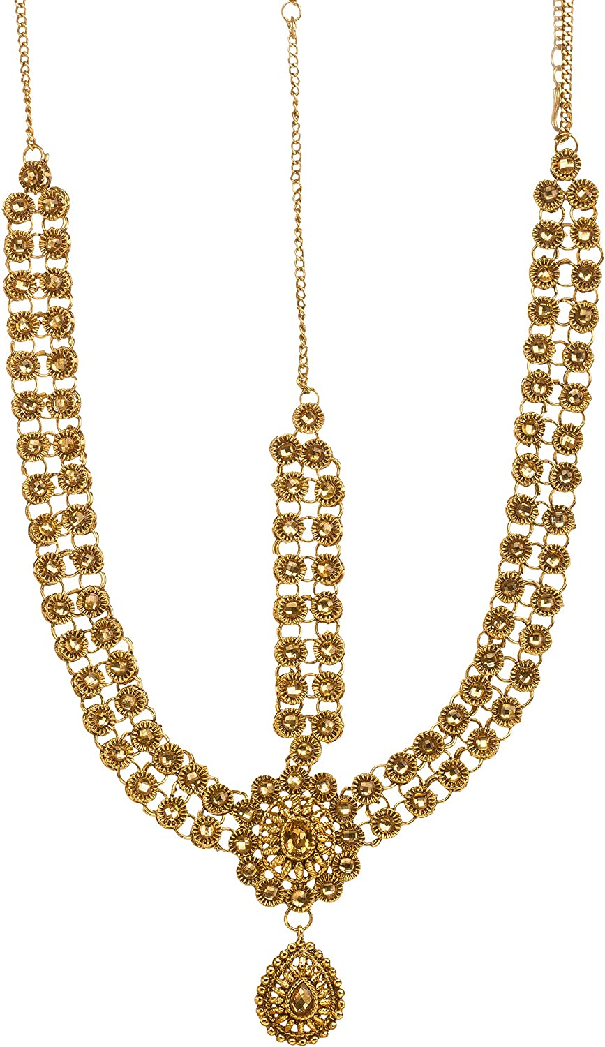 Amazon Com Bindhani Indian Bollywood Style Wedding Gold Plated