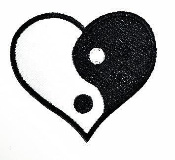 Yin Yang Parche Bordado De Dibujos Animados Para Coser O Planchar