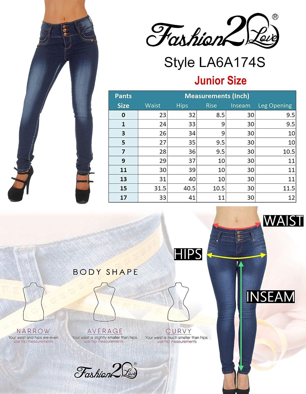 Colombian Design Skinny Jeans Butt Lift Mid Waist