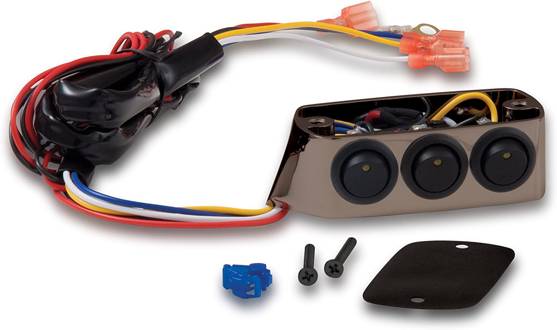 52-605SKA Show Chrome Accessories Smoke Chrome Master Cylinder Switch Block