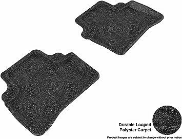 Classic Carpet 3D MAXpider Front Row Custom Fit Floor Mat for Select Mercedes-Benz S-Class Models Tan