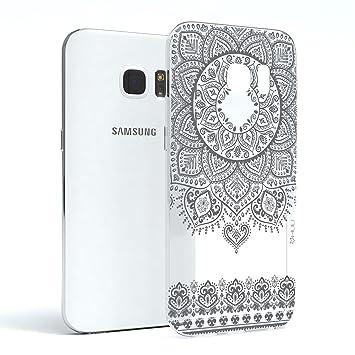 HULI Design Case Hülle für Samsung Galaxy S7 Smartphone im ...
