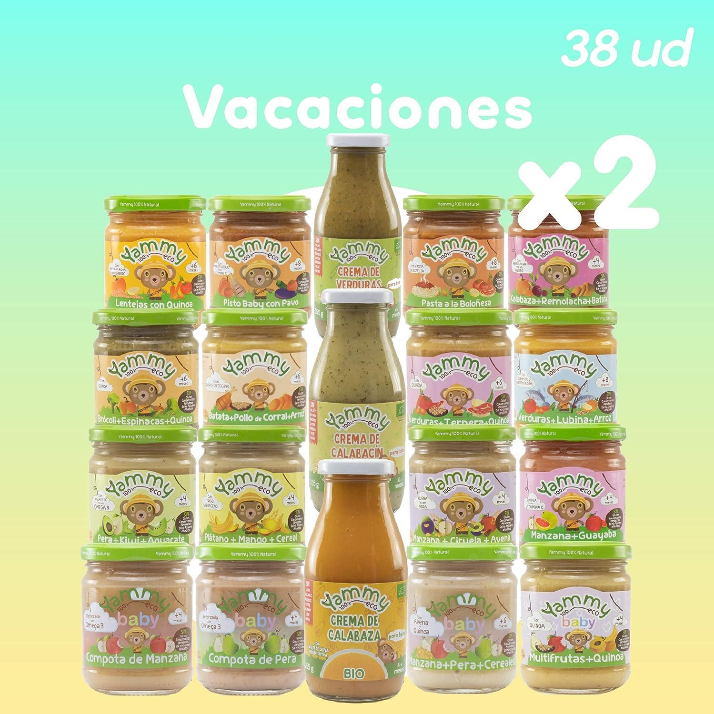 Yammy Pack Vacaciones Potitos de Frutas 4680 g: Amazon.es: Alimentación y bebidas