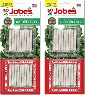 product image for Jobe's 5001T Houseplant Indoor Fertilizer Food Spikes, 50 Pack(2)
