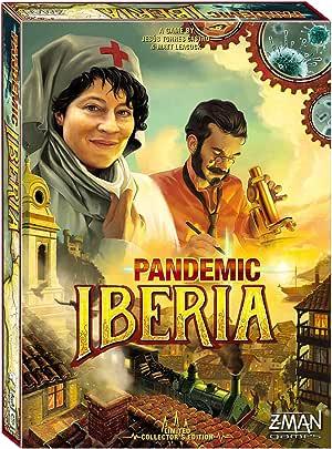 Zman Games Pandemic Iberia Board Game