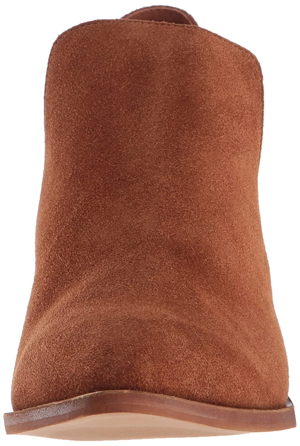 Chinese Laundry Women's Focus Ankle Bootie B07BN4CPYR 5.5 B(M) US|Rust Suede
